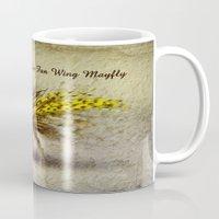 Yellow Fan Wing Mayfly Mug