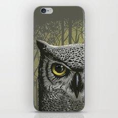 Moon Owl iPhone & iPod Skin