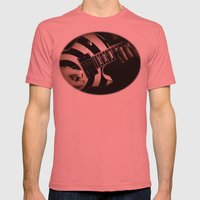 The Guitar Player Mens Fitted Tee Pomegranate SMALL