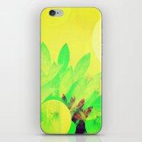 Tropical Sun Drops heat iPhone & iPod Skin