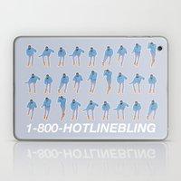 Hotline Bling (blue) Laptop & iPad Skin