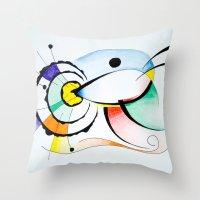 Eye - Ojo Throw Pillow