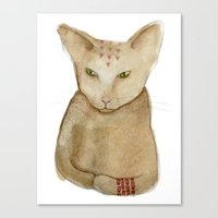 Totem Kitteh 1 Canvas Print