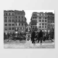 A Nice Day to be a Tourist Canvas Print
