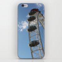 London Eye, London (2012… iPhone & iPod Skin