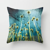 high flow::er Throw Pillow