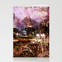 Double Exposure Art Stationery Cards