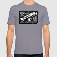 I Wanna See You in Technicolor Mens Fitted Tee Slate SMALL