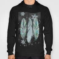 Feathers In The Winter S… Hoody