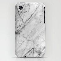 iPhone 3Gs & iPhone 3G Cases featuring Marble by Patterns and Textures