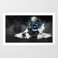 The Puck Stops here Art Print