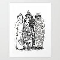 Trick R' Treat Art Print