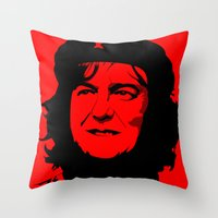 May Guevara Throw Pillow