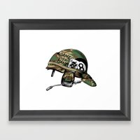 Game Over, Man! Framed Art Print