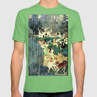 A Walk In The Park Mens Fitted Tee Grass SMALL