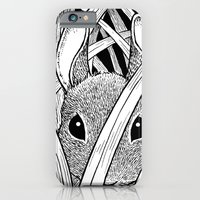 Bunny in the Grass iPhone 6 Slim Case
