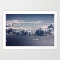 Cloud Formation Art Print