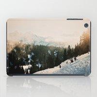 Winter Mountain Hike iPad Case