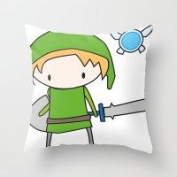 Link - The Legend of Zelda Throw Pillow