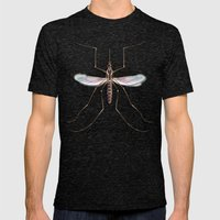 Mosquito Mens Fitted Tee Tri-Black SMALL