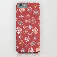christmas snow iPhone 6 Slim Case