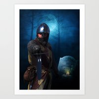 Knight Of The Realm Art Print