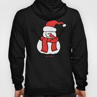 Christmas Snowman and Children Hoody