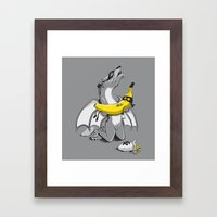 A tragic end to the story... (Limited Color) Framed Art Print