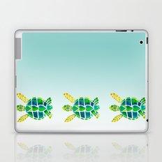 Swimming Baby Sea Turtles Laptop & iPad Skin