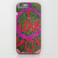 iPhone & iPod Case featuring Love  by Elle