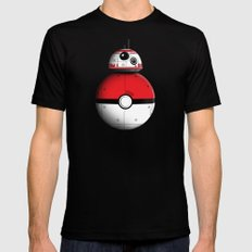 PokeBB Mens Fitted Tee Black SMALL
