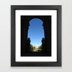 Palace of Fine Arts II Framed Art Print