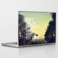 quotes Laptop & iPad Skins featuring QUOTES by magdam