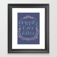 Happily Ever After Framed Art Print