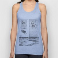 Death's newspaper booth Unisex Tank Top