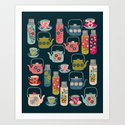 Vintage Thermos - Teacups and Teapots by Andrea Lauren Art Print