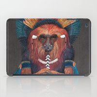 Red Fire Monkey iPad Case
