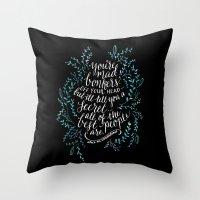 Bonkers Throw Pillow