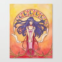 Princess Mars Canvas Print