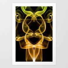 Smoke Photography #9 Art Print