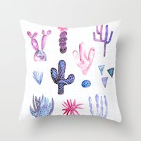 Pinata Cactus Throw Pillow