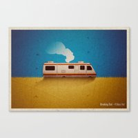 Breaking Bad - 4 Days Ou… Canvas Print
