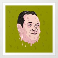 Ted Crooze Art Print