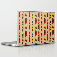 tribal Laptop & iPad Skins featuring tribal by sylvie demers