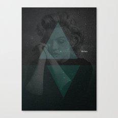 Sirius, the brightest star Canvas Print