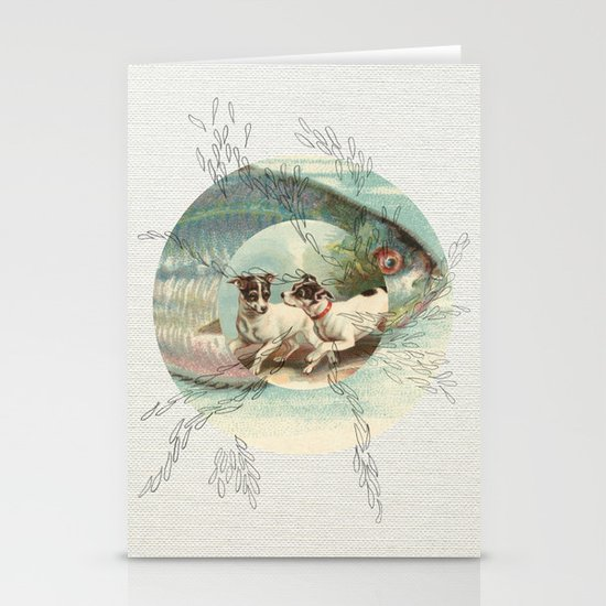 Of the Ocean Stationery Card