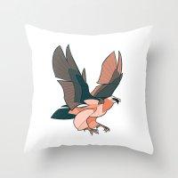 Lammergeier Throw Pillow