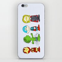 Little Avengers iPhone & iPod Skin