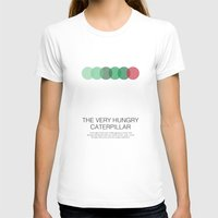 The Very Hungry Caterpil… Womens Fitted Tee White SMALL