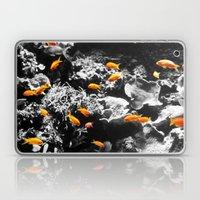 Orange Fish Laptop & iPad Skin